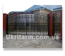 Drop-forged products - forged fences
